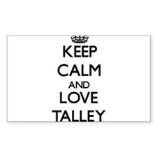 Keep calm and love Talley Decal