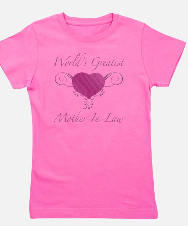 Heart_Mother-In-Law Girl's Tee