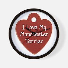 Manchester Tag Wall Clock