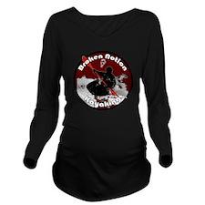 bnkayakred Long Sleeve Maternity T-Shirt