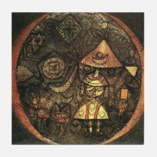 Fairytale of the Dwarf by Klee Tile Coaster
