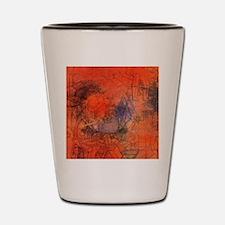 Groynes by Paul Klee Shot Glass