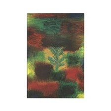 Little Tree by Klee Rectangle Magnet