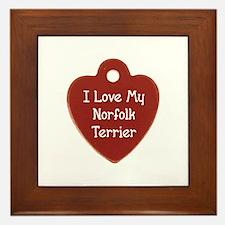 Norfolk Tag Framed Tile