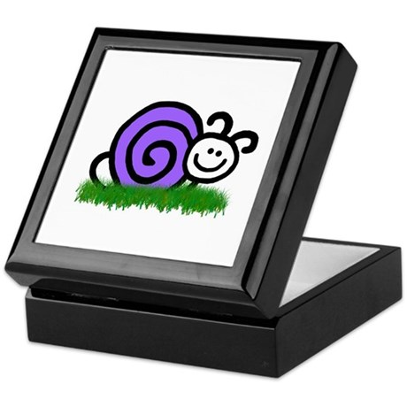 Sam the Snail Keepsake Box