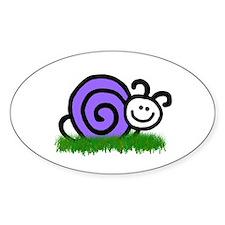 Sam the Snail Decal