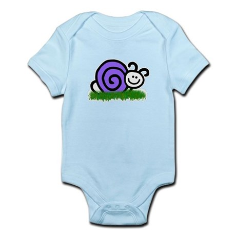 Sam the Snail Infant Bodysuit