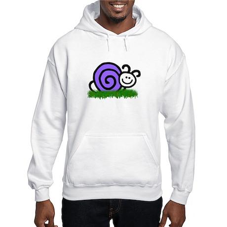 Sam the Snail Hooded Sweatshirt