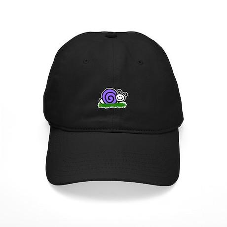 Sam the Snail Black Cap