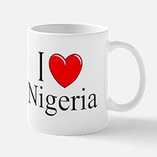 """""""I Love Nigeria"""" Mug"""