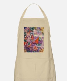 Klee - Harbor with Sailing Ships Apron