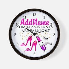 BEST ADMIN ASST Wall Clock