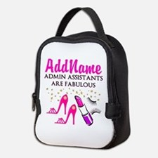 BEST ADMIN ASST Neoprene Lunch Bag