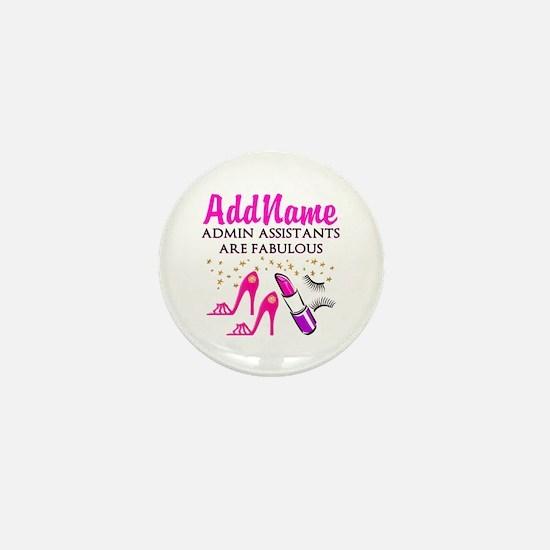 BEST ADMIN ASST Mini Button