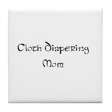 Cloth diaper Tile Coaster