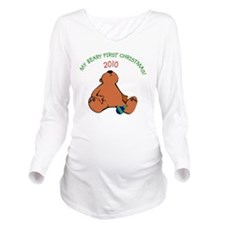 bearyfirst2010-7x7 Long Sleeve Maternity T-Shirt