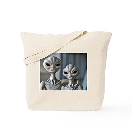 Alien Couple - Tote Bag