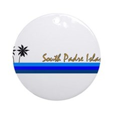 Cute Galveston texas Ornament (Round)