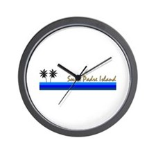 Funny Galveston texas Wall Clock