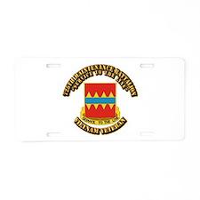 Army - 725th Maintenance Battalion Aluminum Licens