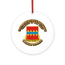 Army - 725th Maintenance Battalion Ornament (Round