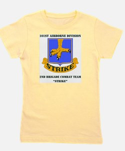 101st ab div 2nd Brigade Combat Team WI Girl's Tee