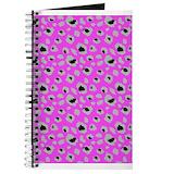 Cheetah print Journals & Spiral Notebooks