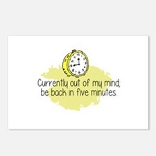 Out of My Mind Postcards (Package of 8)