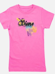 Custom Name Diva shirts Girl's Tee