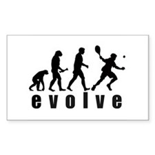 Evolve Tennis Rectangle Decal