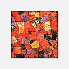 """Klee - Mountain Village, pa Square Sticker 3"""" x 3"""""""