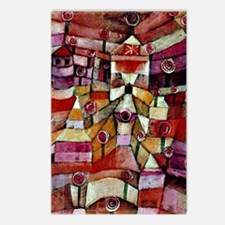 Klee - Ose Garden, painti Postcards (Package of 8)