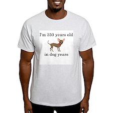 50 birthday dog years chihuahua T-Shirt