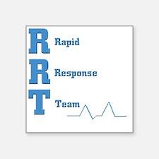 "Rapid Response Team Square Sticker 3"" x 3"""