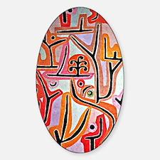 Klee - Park Bei Lu, Paul Klee paint Decal