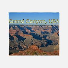 Grand Canyon National Park USA Throw Blanket