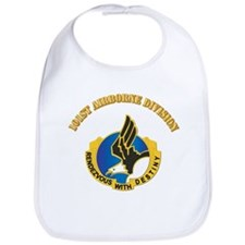 DUI - 101st Airborne Division with Text Bib