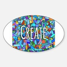 Create - inspiring words Decal
