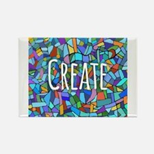 Create - inspiring words Magnets