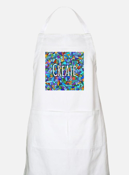 Create - inspiring words Apron