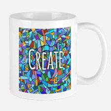 Create - inspiring words Mugs