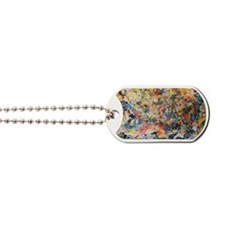 action-painting Dog Tags
