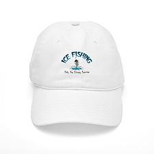 Ice Fishing Baseball Cap