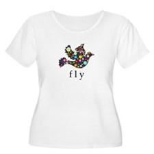 Fly - Soar and Be Free Plus Size T-Shirt
