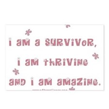 I am Amazing Postcards (Package of 8)