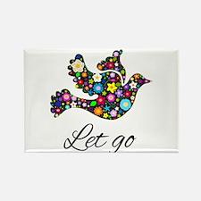 Let Go Bird Magnets