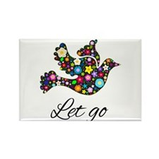 Let Go Bird Magnets