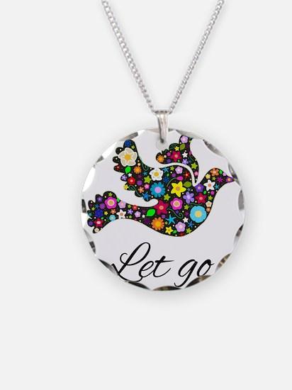 Let Go Bird Necklace