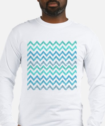 Girly Summer Sea Teal Turquois Long Sleeve T-Shirt