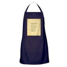 Serenity Prayer Apron (dark)